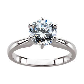 inel de logodna cu diamant de 0.75 carate
